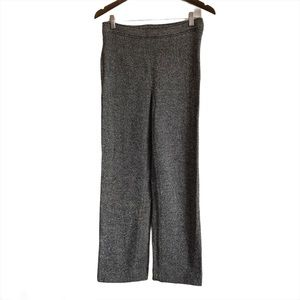 GEORGES RECH Synonyme Vintage Straight Leg Soft Casual Dress Pants Grey